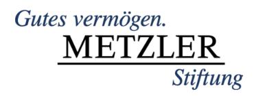 metzler-stiftung
